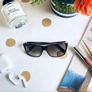 VALENTINO retro square gradient sunglasses